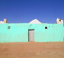 Beautiful Algeria - Turquoise Building by ShadowDancer