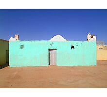 Beautiful Algeria - Turquoise Building Photographic Print