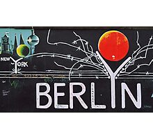 BERLIN WALL MURAL Photographic Print