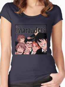 Marauders! Women's Fitted Scoop T-Shirt