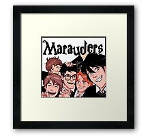 Marauders! Framed Print