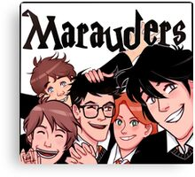 Marauders! Canvas Print