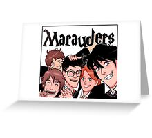 Marauders! Greeting Card