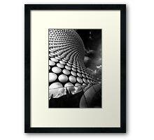 BullRing - Selfridges v2.0 BW Framed Print