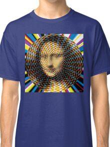 Psychedelic Mona Lisa Classic T-Shirt