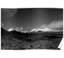 Rannoch Moor and the Black Mount Poster
