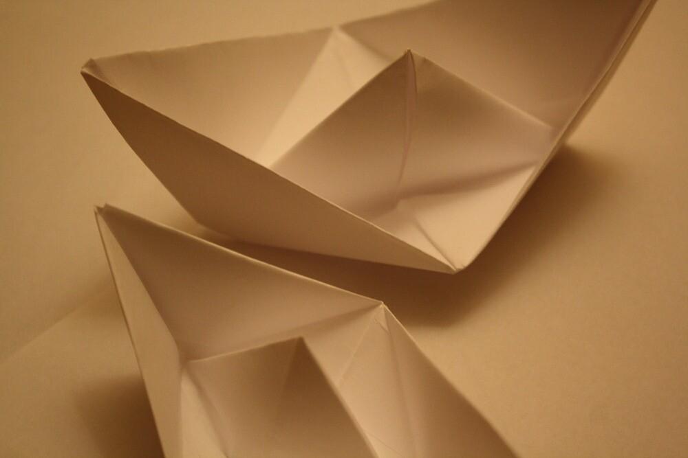 Paper Boats by Dreamfolorn