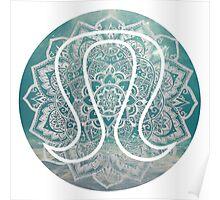 Mandala Lulu Logo Poster