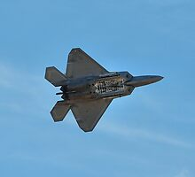 F-22 Bomb Doors Open by Kenneth Fugate