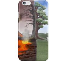 Two Scenes In One iPhone Case/Skin