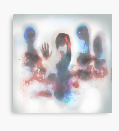 touch the screen Canvas Print