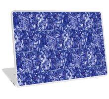 blue composition Laptop Skin