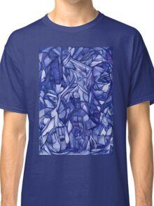 blue composition Classic T-Shirt