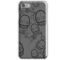 Spaztic Bots 4 iPhone Case/Skin