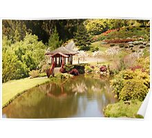 The Japanese Covered Bridge Poster
