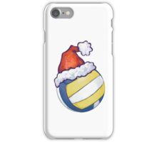 Volleyball Christmas iPhone Case/Skin