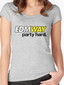 EDMWAY (special edition) Women's Fitted Scoop T-Shirt