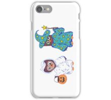 Trick or Treating Halloween Cartoon Owls iPhone Case/Skin