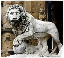 Great Lion of Florence Poster