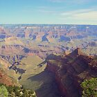 The Historical Grand Canyon, Arizona U.S.A. by David  Hughes