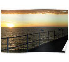Port Hughes Sunset Poster