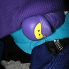 Ninja Duck Hiding by blueclover