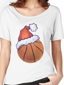 Basketball Christmas Women's Relaxed Fit T-Shirt