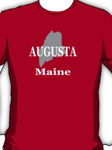 Augusta Maine City and Town Pride  T-Shirt