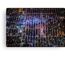 New York City At Night Pt 2 Canvas Print