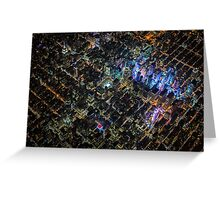 New York City At Night Pt 3 Greeting Card