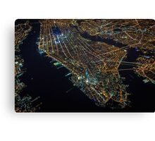 New York City At Night Pt 4 Canvas Print