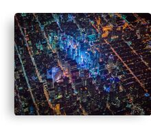 New York City At Night Pt 5 Canvas Print