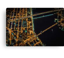 New York City At Night Pt 8 Canvas Print