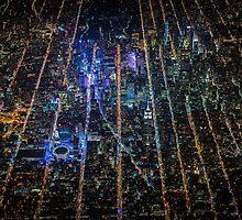 New York City At Night Pt 9 by extinctstartups