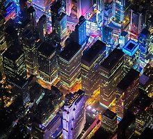 New York City At Night Pt 12 by extinctstartups