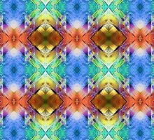 Mixed Media Abstract Pattern by Phil Perkins