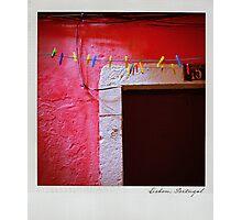 Pink Polaroïd Photographic Print