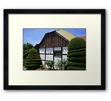 Traditional German Settler's House Framed Print
