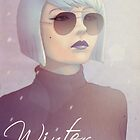Winter - calendar ladies by Patryk Majgat