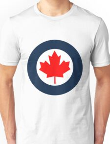 Royal Canadian Air Force Roundel Unisex T-Shirt