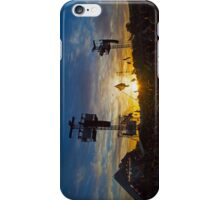 Pyramid Stage, Glastonbury Festival Sunset iPhone Case/Skin