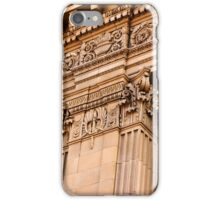 Architectural Detail of an Old Building in Fresno California iPhone Case/Skin