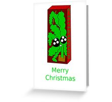 It's a long wait for Christmas if you're a Fake Tree Greeting Card