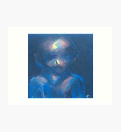 Boy (Pastel) Art Print