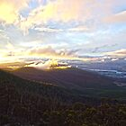 Clouds over Mount Wellington by Jazz08