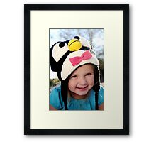 Penguin Princess Framed Print