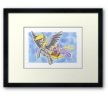 Derpy and Dinky Framed Print