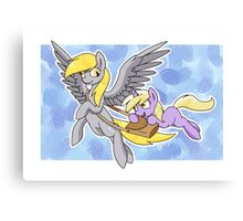 Derpy and Dinky Canvas Print
