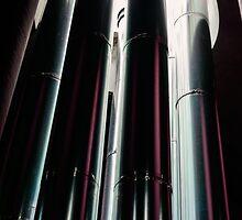 Natural Light Shaft, Cantina Salcheto, Montepulciano, Tuscany, Italy by Andrew Jones