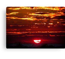 Jeweled Sunset Canvas Print